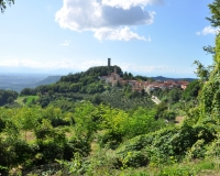 Uitzicht op Castellino