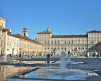 Turijn Fontein Piazza Castello